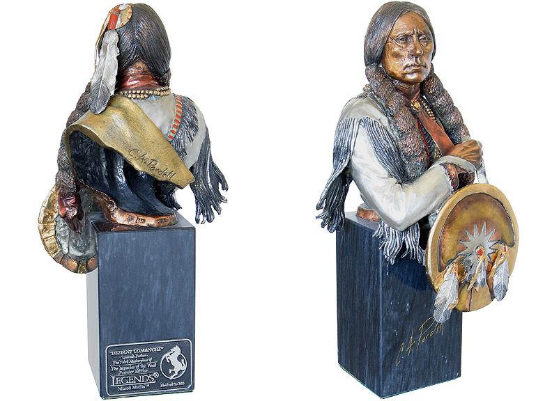 Defiant Comanche by Chris Pardell