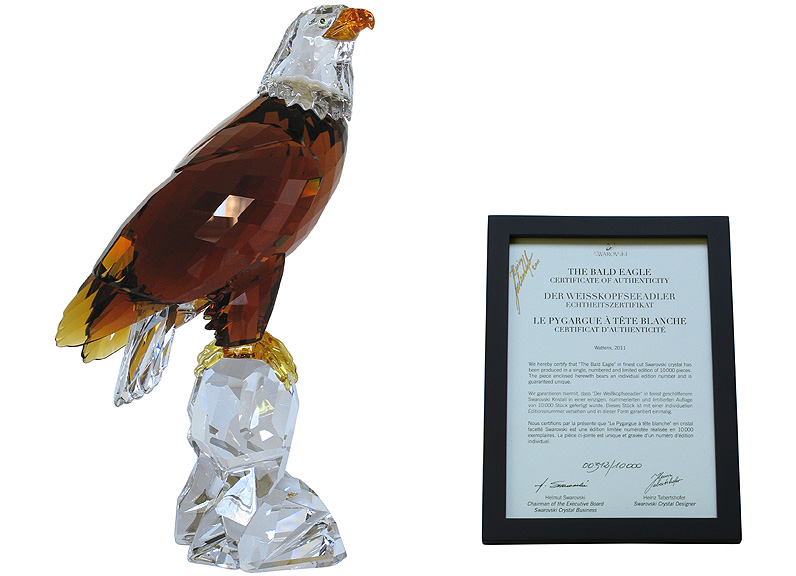 054708696 Heinz Tabertshofer's Numbered Limited Edition 2011 Bald Eagle